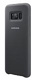 Samsung Galaxy S8 Orjinal Gri Silikon Kılıf
