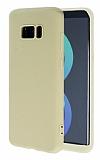 Samsung Galaxy S8 Plus 360 Derece Koruma Likit Gold Silikon Kılıf