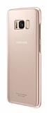 Samsung Galaxy S8 Plus Orjinal Clear Cover Pembe Rubber Kılıf