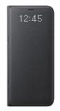 Samsung Galaxy S8 Plus Orjinal Led Wallet Cover Siyah Kılıf