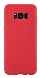 Samsung Galaxy S8 Plus Rainbow Kırmızı Silikon Kılıf