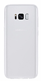 Samsung Galaxy S8 Plus Ultra İnce Şeffaf Silikon Kılıf