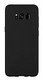 Samsung Galaxy S8 Rainbow Siyah Silikon Kılıf