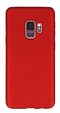 Samsung Galaxy S9 Mat Kırmızı Silikon Kılıf