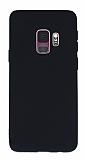 Samsung Galaxy S9 Mat Siyah Silikon Kılıf