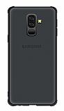 Samsung Galaxy S9 Plus Buzlu Siyah Rubber Kılıf