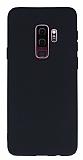 Samsung Galaxy S9 Plus Mat Siyah Silikon Kılıf