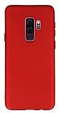 Samsung Galaxy S9 Plus Mat Kırmızı Silikon Kılıf