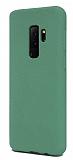 Samsung Galaxy S9 Plus Rainbow Yeşil Silikon Kılıf