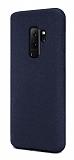 Samsung Galaxy S9 Plus Rainbow Lacivert Silikon Kılıf