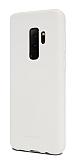 Samsung Galaxy S9 Plus Rainbow Beyaz Silikon Kılıf