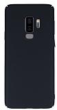Samsung Galaxy S9 Plus Tam Kenar Koruma Siyah Rubber Kılıf