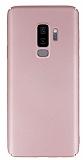 Samsung Galaxy S9 Plus Tam Kenar Koruma Rose Gold Rubber Kılıf