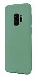 Samsung Galaxy S9 Rainbow Yeşil Silikon Kılıf