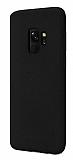 Samsung Galaxy S9 Rainbow Siyah Silikon Kılıf