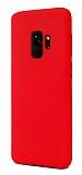 Samsung Galaxy S9 Rainbow Kırmızı Silikon Kılıf