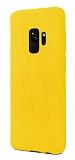 Samsung Galaxy S9 Rainbow Sarı Silikon Kılıf