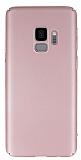 Samsung Galaxy S9 Tam Kenar Koruma Rose Gold Rubber Kılıf