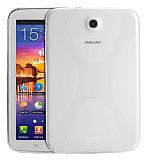 Samsung Galaxy Tab 3 7.0 Desenli �effaf Silikon K�l�f