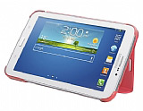 Samsung Galaxy Tab 3 7.0 Orjinal Standl� Book Cover Pembe K�l�f