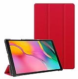Samsung Galaxy Tab A 10.1 2019 T510 Slim Cover Kırmızı Kılıf