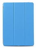 Samsung Galaxy Tab A 2016 T580 Slim Cover Mavi Kılıf