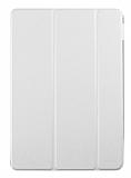 Samsung Galaxy Tab A 2016 T580 Slim Cover Beyaz Kılıf