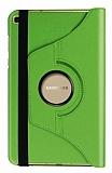 Samsung Galaxy Tab A 8.0 T290 360 Derece Döner Standlı Yeşil Deri Kılıf