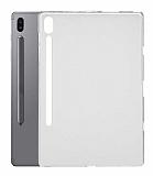 Samsung Galaxy Tab S7 FE LTE T737 Şeffaf Silikon Kılıf