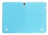 Samsung Galaxy Tab S 10.5 Şeffaf Mavi Silikon Kılıf
