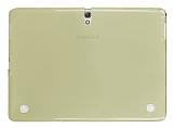 Samsung Galaxy Tab S 10.5 Şeffaf Gold Silikon Kılıf