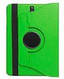 Samsung T820 Galaxy Tab S3 9.7 360 Derece Döner Standlı Yeşil Deri Kılıf