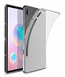 Samsung Galaxy Tab S6 T860 Şeffaf Silikon Kılıf