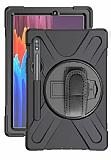 Samsung Galaxy Tab S7 Plus T970 Standlı Ultra Koruma Kılıf