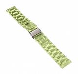 Samsung Galaxy Watch 3 41 mm Şeffaf Yeşil Silikon Kordon