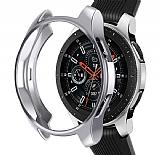 Samsung Galaxy Watch 3 Silver Silikon Kılıf 41mm