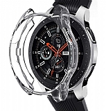 Samsung Galaxy Watch 3 Şeffaf Silikon Kılıf 41mm