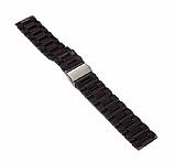 Samsung Galaxy Watch 46 mm Şeffaf Siyah Silikon Kordon