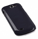 Samsung i8150 Galaxy W Siyah Sert Parlak K�l�f