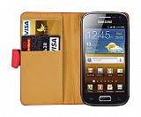 Samsung i8160 Galaxy Ace 2 K�rm�z� Yan C�zdanl� K�l�f