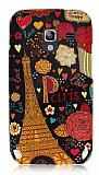 Samsung i8160 Galaxy Ace 2 Paris Sert Parlak Rubber K�l�f