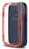 Samsung i8190 Galaxy S3 mini Bumper �er�eve K�rm�z� K�l�f