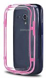 Samsung i8190 Galaxy S3 mini Bumper �er�eve Pembe K�l�f