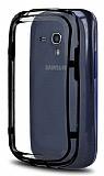 Samsung i8190 Galaxy S3 mini Bumper �er�eve Siyah K�l�f