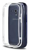 Samsung i8190 Galaxy S3 mini Bumper �er�eve Beyaz K�l�f