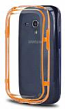 Samsung i8190 Galaxy S3 mini Bumper �er�eve Turuncu K�l�f