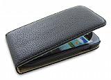 Samsung i8190 Galaxy S 3 Mini Kapakl� Siyah Deri K�l�f