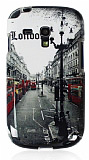 Samsung i8190 Galaxy S 3 mini London Street Silikon K�l�f