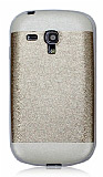 Samsung i8190 Galaxy S3 mini Gold Silikon K�l�f