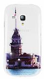 Samsung i8190 Galaxy S3 mini Ta�l� K�z Kulesi Ultra �nce Silikon K�l�f